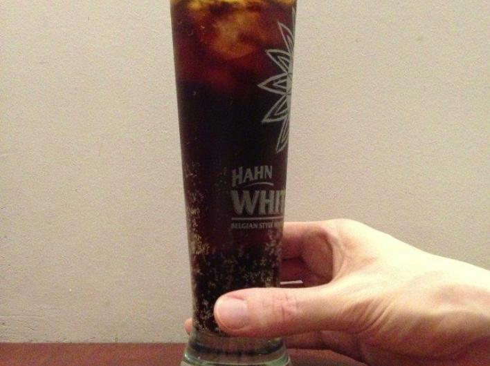 Just received my largest drink yet.